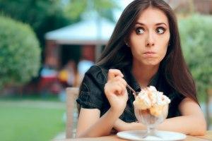 (donna gelato per dieta)